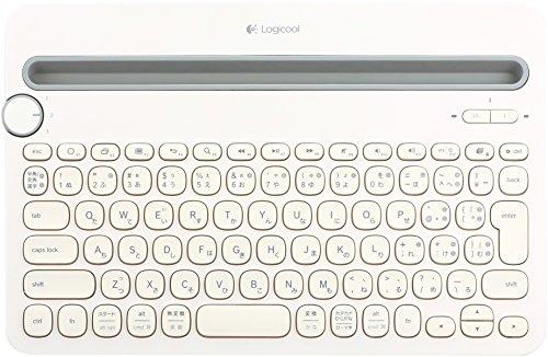 Logicool ロジクール K480WH Bluetooth ワイヤレス キーボード マルチOS:Windows Mac iOS Android Chrome OS 対応