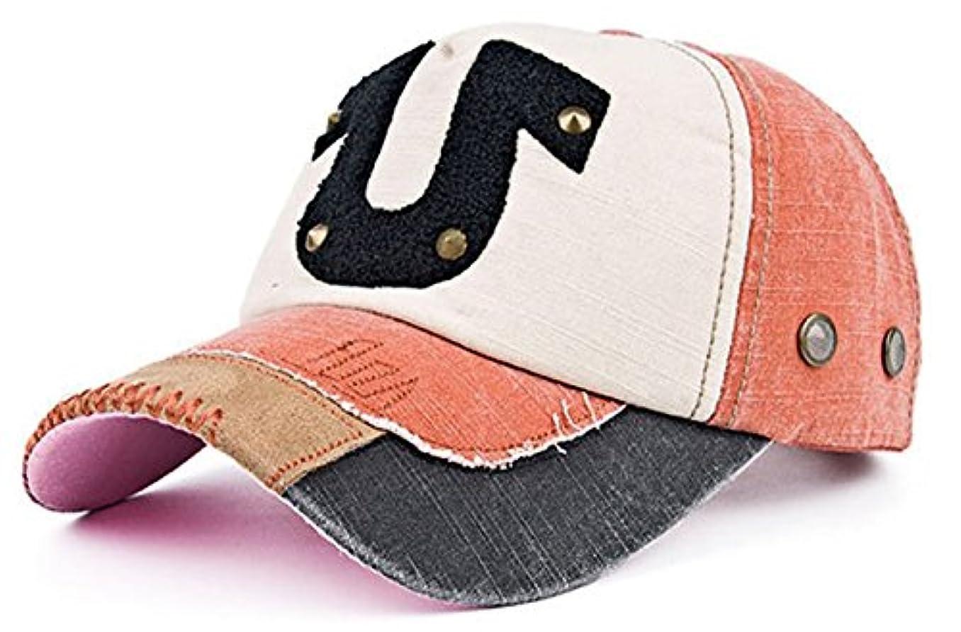 coolzdtスペルカラーpre-curvedリベットU Horseshoeアウトドアスナップバック野球キャップ