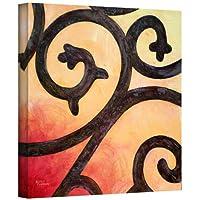 アートウォールハーブディケンソン「錬鉄III」ギャラリー‐布キャンバスアートワーク、35.56×35.56cm