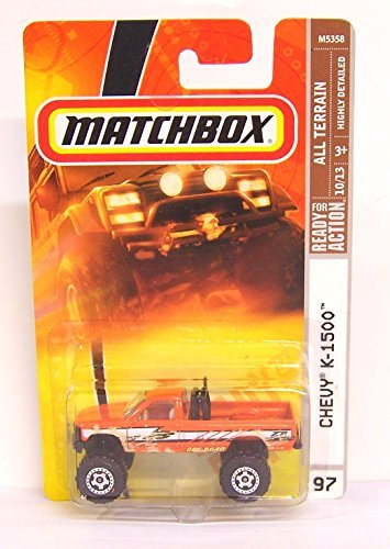 Matchbox Chevy K-1500 Orange High Rider Highly Detailed Issue #97 1/64 2007 by Matchbox [並行輸入品]