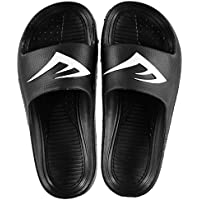Official Brand Everlast Sliders Sandals Childs Boys Black Flip Flop Thongs Beach Shoes