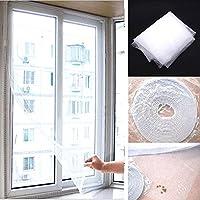 DIY 網戸キット Mサイズ 網戸がない場所で虫やハチの侵入を防ぐ! トイレ お風呂 寝室 など 夏の暑い時期に最適!