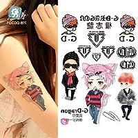 ボディーアート タトゥーシール G Dragon Sticker Tattoo - StickerCollection