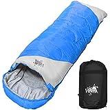 丸洗いOK White Seek 寝袋 シュラフ 封筒型【最低使用温度0℃ 1300】コンパクト収納