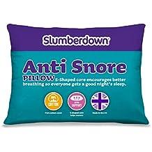 (1) - Slumberdown Polyester, Cotton, Polypropylene Anti Snore Pillow, White