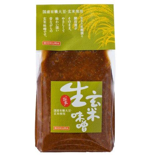 「生」玄米味噌 500g