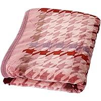 昭和西川 ニューマイヤー 軽量 なめらか毛布 シングル 140×190cm T-003 ピンク 2230520420103
