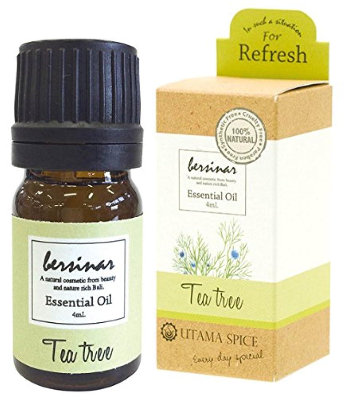 唯物論ノート控えめなウタマスパイス アロマオイル ベルシナル ティートリーの香り 4ml OE-UTO-1-5