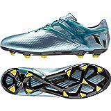 [アディダス] adidas サッカーシューズ メッシ 10.1 FG/AG B23773 B23773 (マットアイスメット F12/ブライトイエロー/コアブラック/27.0)