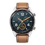 Huawei Watch GT Classic/サドルブラウン スマートウォッチ ※1.39インチカラータッチスクリーン 約46g 通常約14日間使用可【日本正規代理店品】 WATCH GT CLASSIC/A