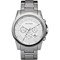 Armani Exchange AX2058 Silver-Tone Stainless Steel Watch