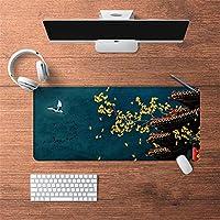 LL-COEUR 油絵 古代のスタイル オリエンタル 大型マウスパッド キーボード ゲーミング オフィス テーブルマット が良い 滑り止めゴム底(5)