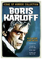 Icons of Horror Collection: Boris Karloff (The Boogie Man Will Get You / The Black Room / The Man They Could Not Hang /
