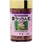 紫うっちん粒 (700粒) 仲善 良質な紫ウコン(ガジュツ)の根茎を厳選した飲みやすい粒タイプ 精油成分豊富で健康管理におすすめ 沖縄土産にも