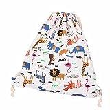 EASTPAK バックパック、ammazonaレディースレトロビームポートDrawstringバックパック旅行バッグショッピングバッグ