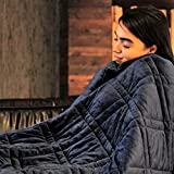 """Pine and River Ultra Plush Weighted Blanket -Great for Winter 