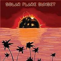 Solar Flare Sunset