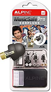 ALPINE 耳栓 HEARING PROTECTION MusicSafe Pro ブラック