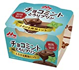 [冷蔵] 森永乳業 チョコミントとろりプリン 75g