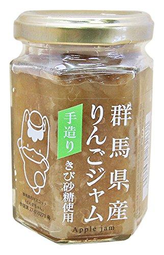 群馬県産 きび砂糖のりんごジャム 150g
