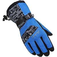 冬ミトンfor Man /スキーグローブ/駆動手袋/スポーツグローブ、ブルー
