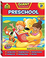 School Zone Giant Preschool Workbook