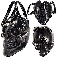 Women's Kreepsville Skull Collection Handbag Black