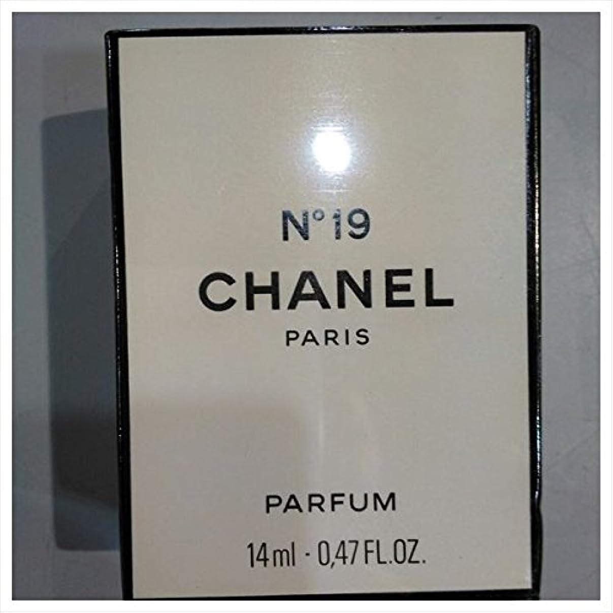 出くわす故意の批判するシャネル No.19 PARFUM 14ml 19番 (並行輸入)