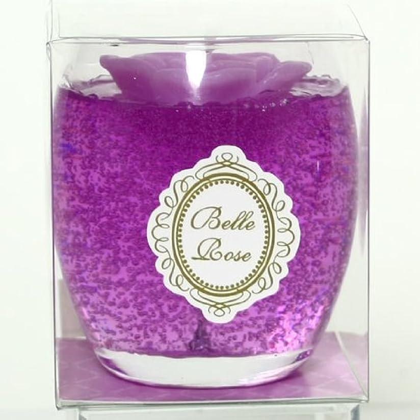 情熱的魅力ゆでるsweets candle(スイーツキャンドル) ベルローズゼリー【パープル】(ba5900500pu)