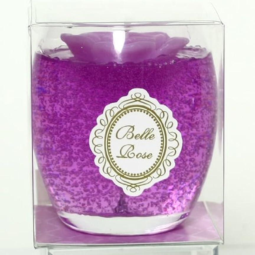 リフレッシュかけがえのないルーキーsweets candle(スイーツキャンドル) ベルローズゼリー【パープル】(ba5900500pu)