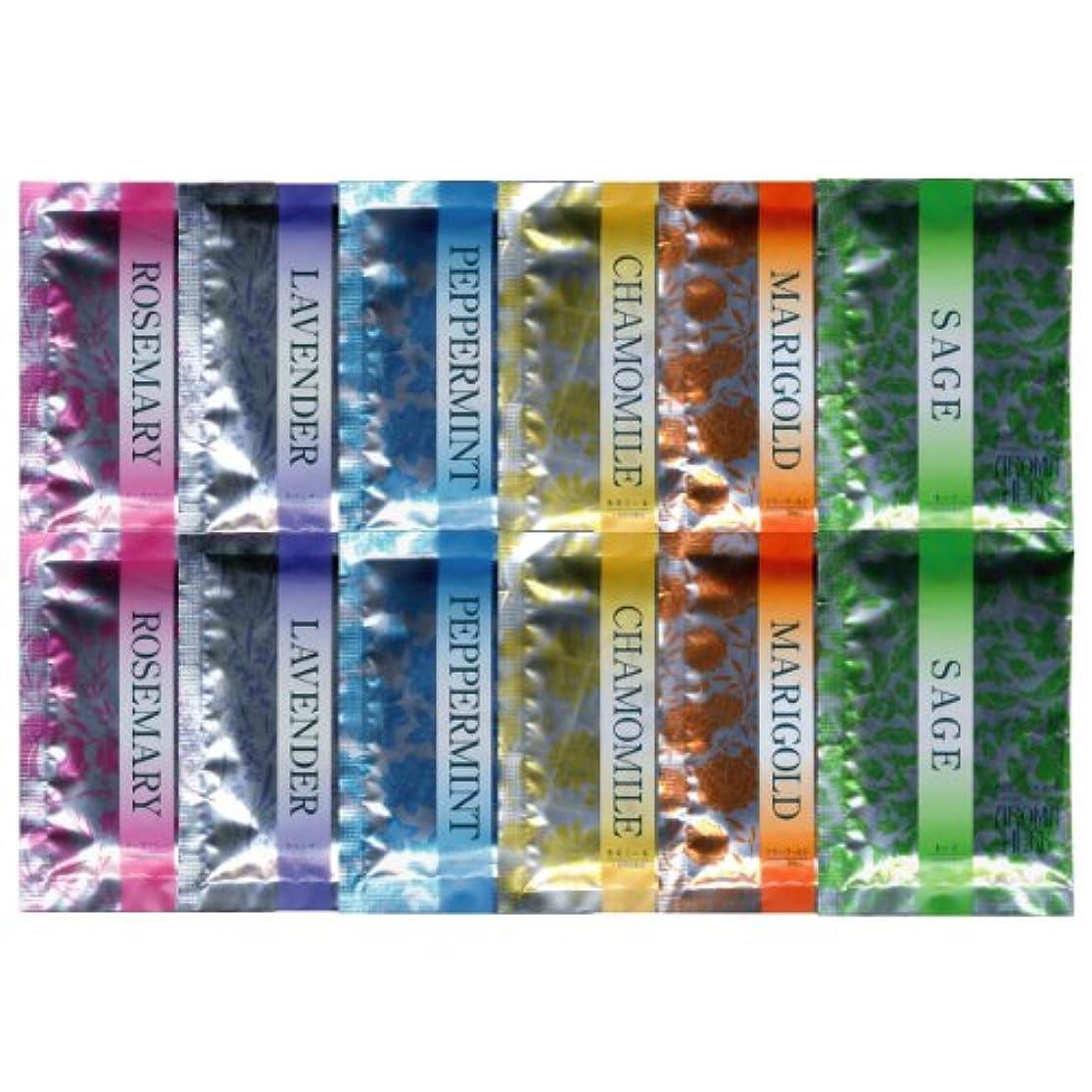 疑わしいトラフィックシニスアロマハーブ 香りの物語 6種類×2 12包