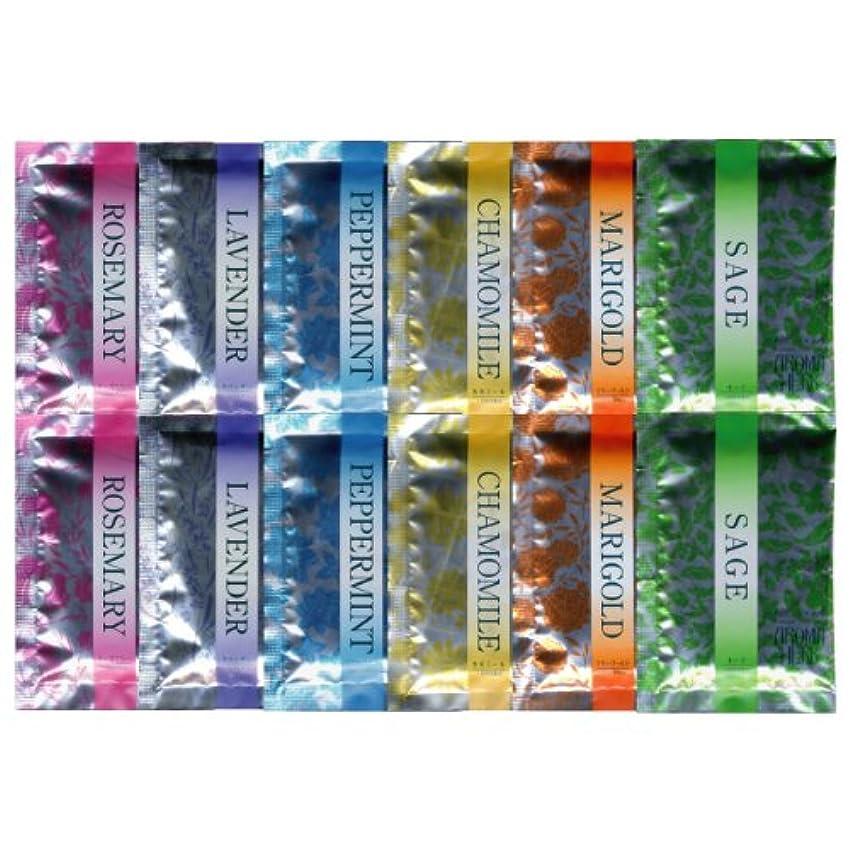 言い訳側溝ハードウェアアロマハーブ 香りの物語 6種類×2 12包