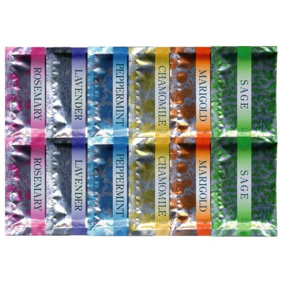 油によってコードレスアロマハーブ 香りの物語 6種類×2 12包