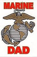 Marine Dadデカールステッカー