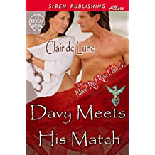 Davy Meets His Match [The Blood Red Rose Club 4] (Siren Publishing Allure)