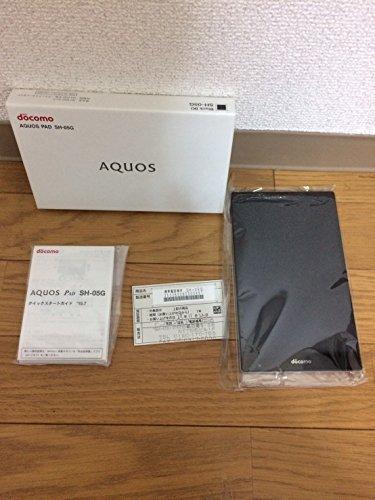 docomo シャープ AQUOS PAD SH-05G 32GB Black ブラック 白ロム