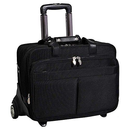 (マックレーンユーエスエー) McKlein USA メンズ バッグ キャリーバッグ Detachable Wheeled 17' Laptop Case 並行輸入品