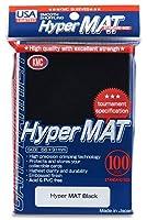 KMC Hyper Matte Black 100-count Standard Size Sleeves Pack [USA packaging] [並行輸入品]