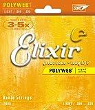 Elixir エリクサー バンジョー弦 POLYWEB Light #11600 ループエンド仕様 【国内正規品】