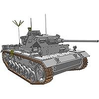 ドラゴン 1/35 第二次世界大戦 ドイツ軍 3号指揮戦車K型 スマートキット プラモデル DR6853
