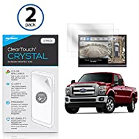 Fordフォード・2017Superduty F - 350( 4.2in )スクリーンプロテクター、傷からBoxWave [ ClearTouchクリスタル( 2- Pack ) ] HDフィルムスキン–シールドfor Fordフォード・2017Superduty F - 350( 4.2in )
