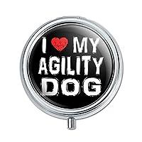 I 愛私の敏捷性犬スタイリッシュピルボックス