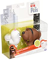 US ToysRus The Secret Life of Pets Vinyl Figure USトイザラス限定 シークレット ライフ オブ ペット ヴィニール フィギュア デューク&ギジェット 【並行輸入品】