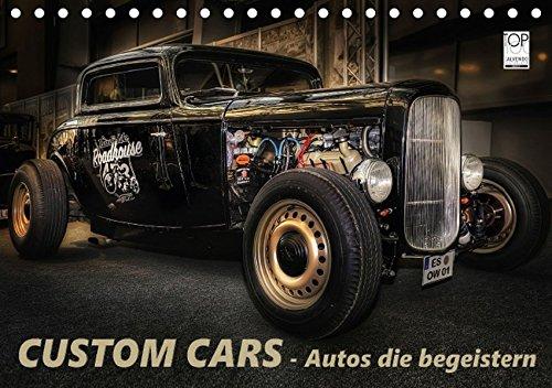Custom Cars - Autos die begeistern (Tischkalender 2017 DIN A5 quer): Diese aussergewoehnlichen Autos muss man sich einfach ansehen. (Monatskalender, 14 Seiten)