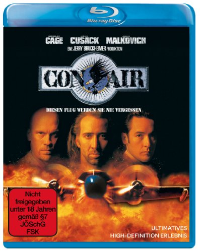 Con Air [Blu-ray] [Import allemand]
