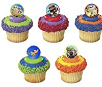 (12) Little Big Planet 3 Cupcake Rings birthday party favour, pinata, treat bag