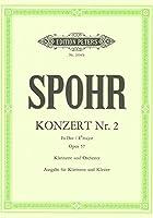 シュポア : クラリネット協奏曲 コンチェルト 第二番 変ホ長調 作品57 (クラリネット、ピアノ) ペータース出版