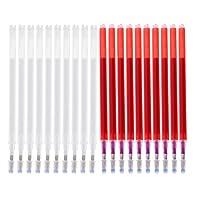Homyl 詰め替えペン 消しペン替芯 高温消える 熱消去可能 多機能 縫製用具 赤/白 20個