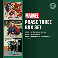 Marvel's Phase Three Box Set: Marvel's Captain America: Civil War / Marvel's Doctor Strange / Marvel's Guardians of the Galaxy, Vol. 2