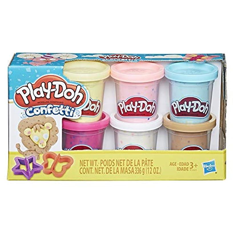 [プレードウ]Play-Doh Confetti Compound Collection B3423AS0 [並行輸入品]